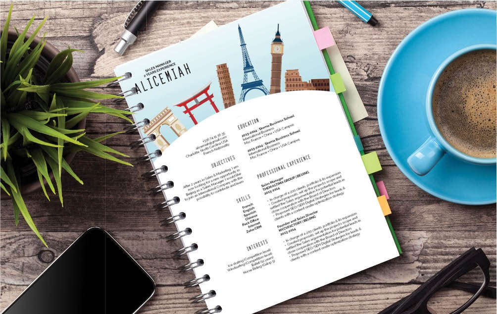 Don't worry too much on how to build a resume, because this CV template has it all for you!