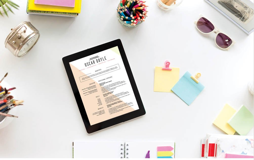 Simple, yet creative -- the perfect blend of functionality for one of the  best resumes online!