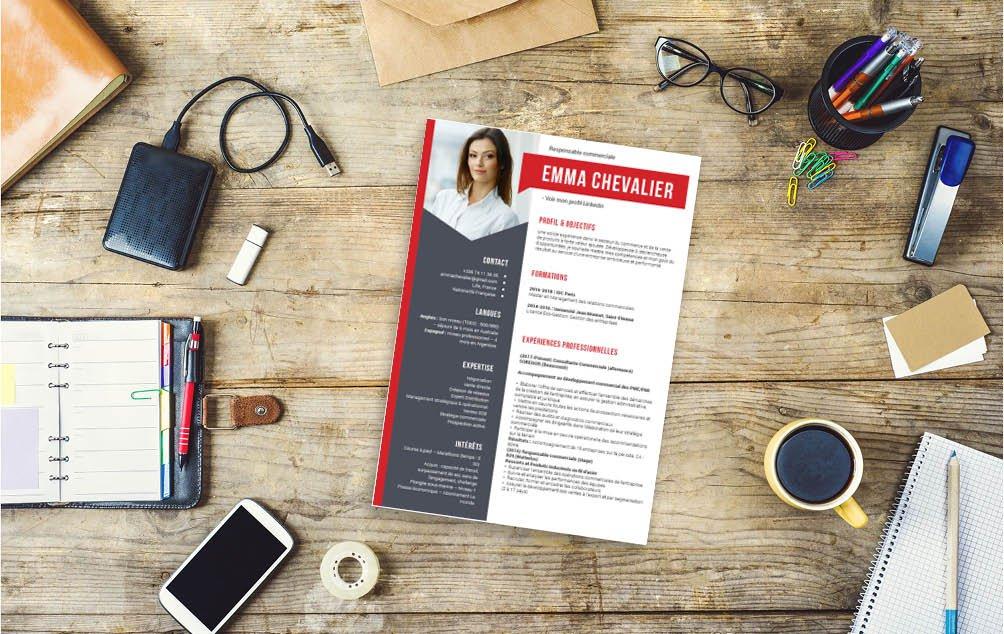 Voici le CV qu'il vous faut pour vous démarquer élégament
