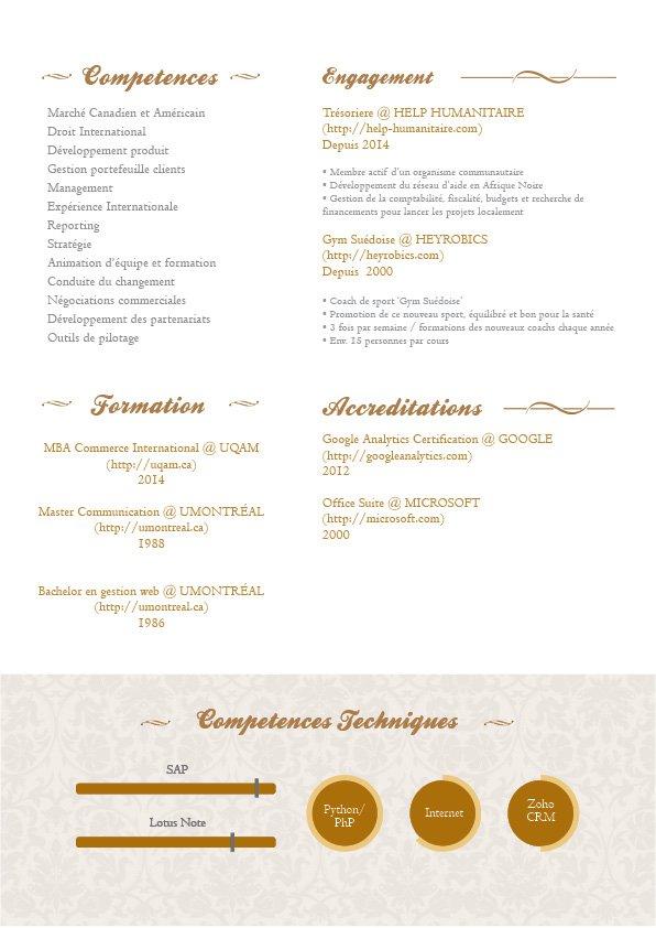 Cv Pro Un Exceptionnel Curriculum Vitae Mycvfactory