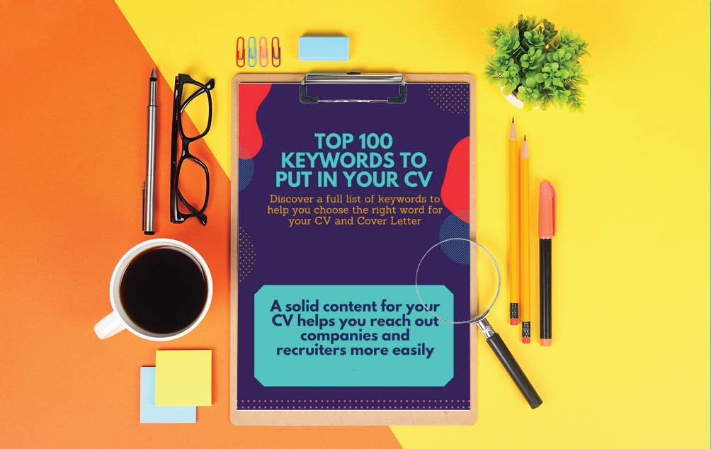 Make your resume impactful thanks to a essential keywords'list