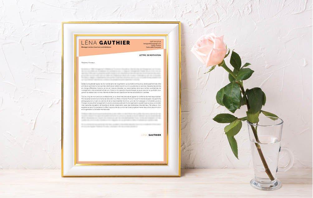 Une lettre de motivation word pensée pour les professionnels de l'immobilier et de l'architecture.