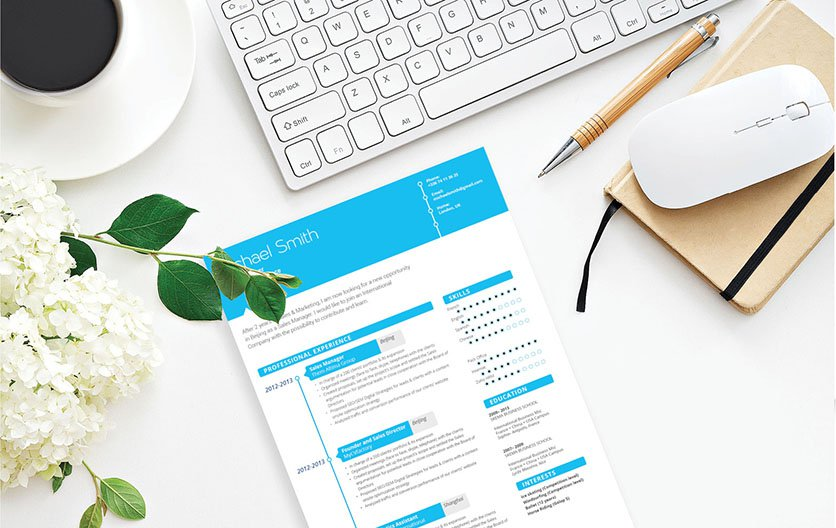 With the best resume format available, this CV will get you hired