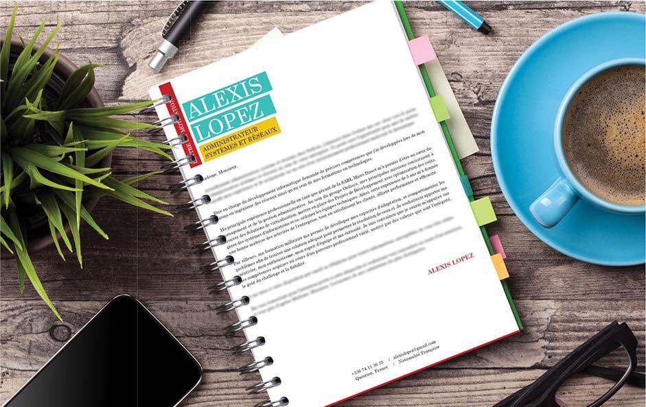 Une lettre de motivation pour un métier dans le secteur du tourisme, de l'hôtellerie et de la restauration.