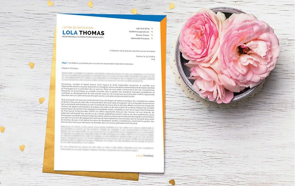 Une lettre de motivation idéale pour briguer un poste dans le monde du digital et de l'enseignement.