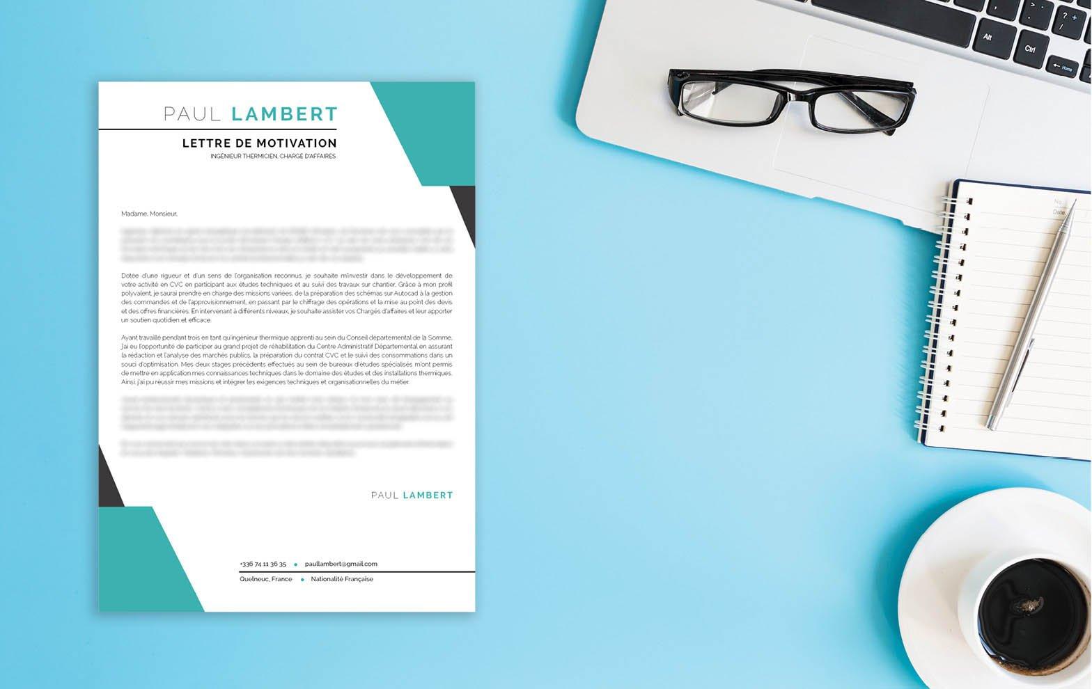 Une lettre de motivation à télécharger élaborée pour optimiser une candidature dans le secteur de la comptabilité.