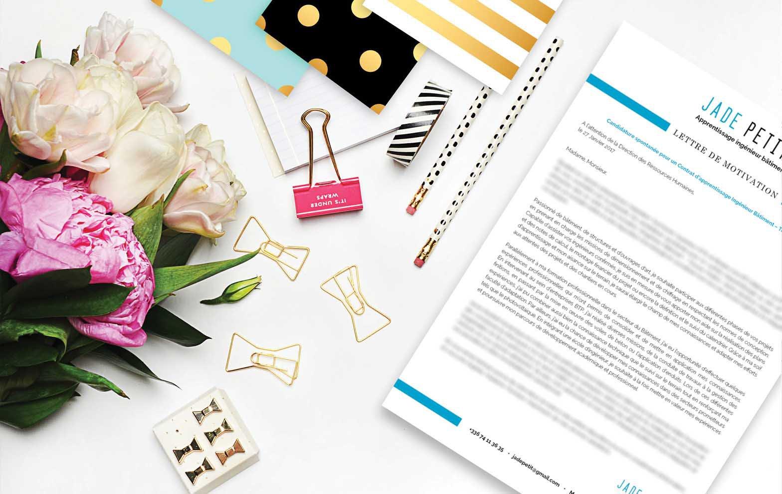 Une lettre de motivation type recommandée pour un métier dans le secteur du social et des services à la personne.