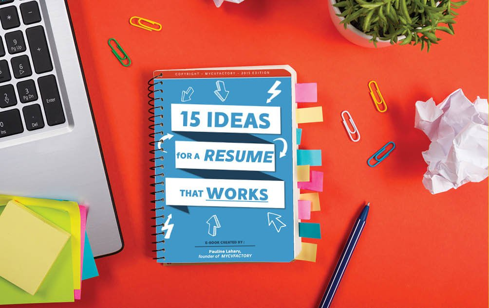 Have a unique resume to catch your recruiter's eye