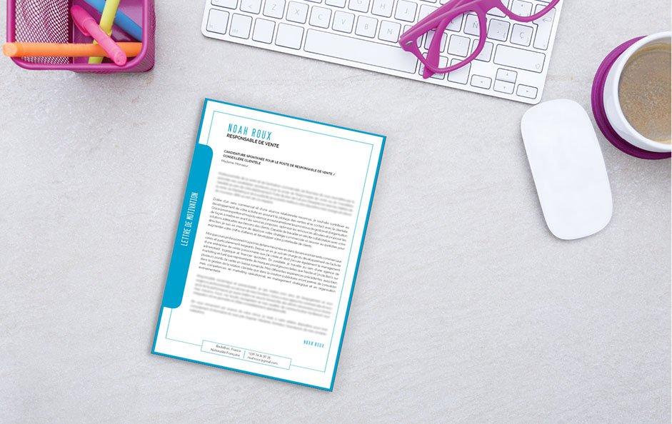 Une lettre de motivation type faite pour une candidature à un poste d'agent immobilier.