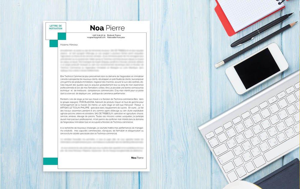 Une lettre de motivation template faite pour tout métier se rapportant aux domaines de l'environnement, de la propreté  et de l'aménagement.