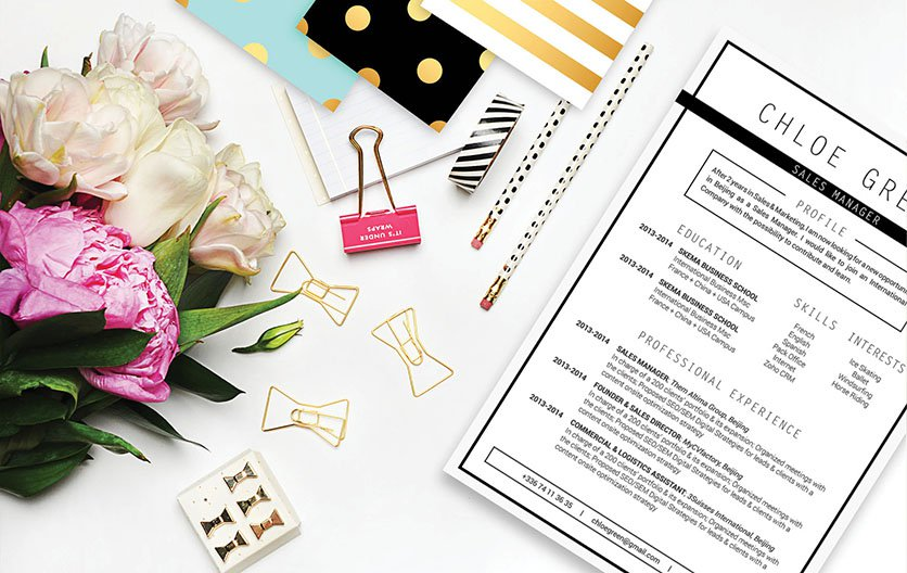 A template with a perfect mix of design and functionality to create the perfect professional CV