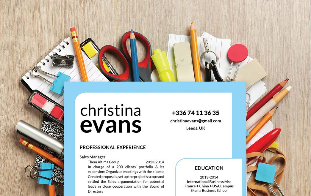 This functional resume template excellently highlights all the key parts in your CV