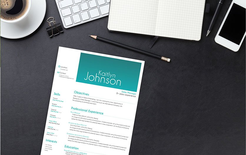 A good resume template that help you land that dream career!