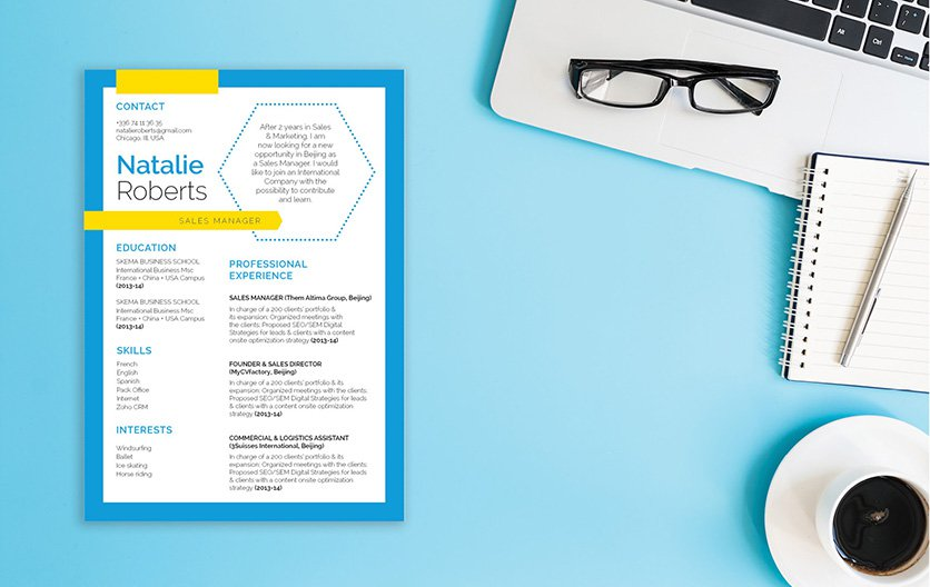 Build the best resume you can with this functional resume template!