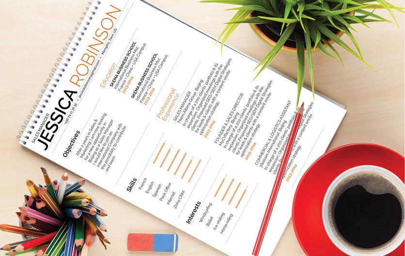 This is the perfect good resume template with an excellent balance of style and professionalism
