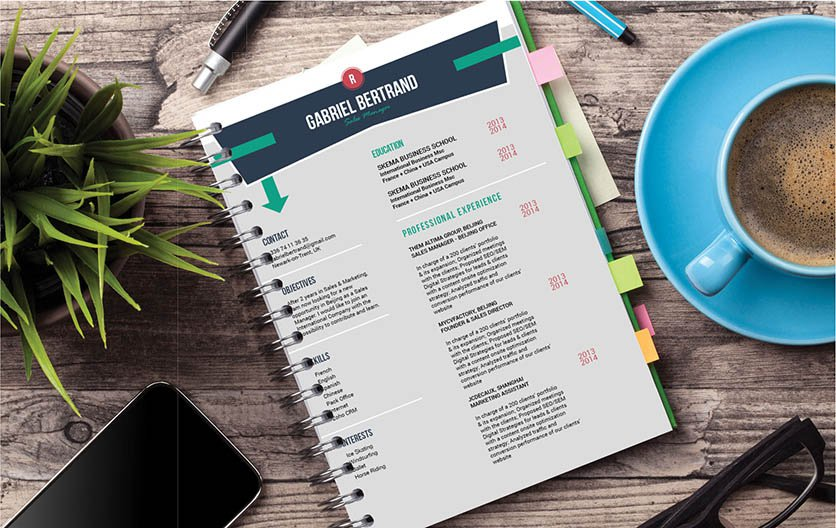 This professional resume has everything you love -- a great design and format!