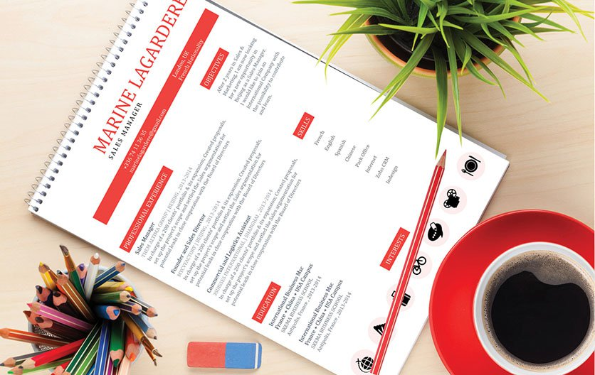 A simple resume fomrat is all you need to win over any recruiter
