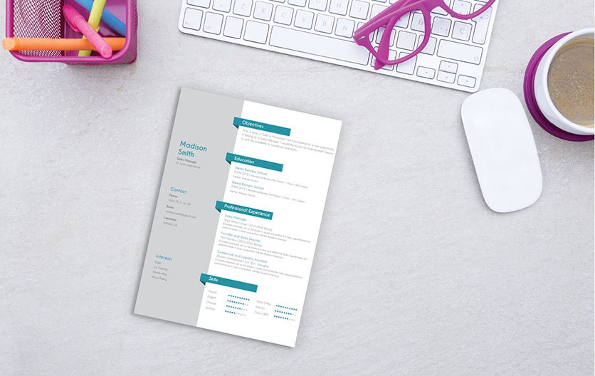 Working student? This is the best school resume template out there!