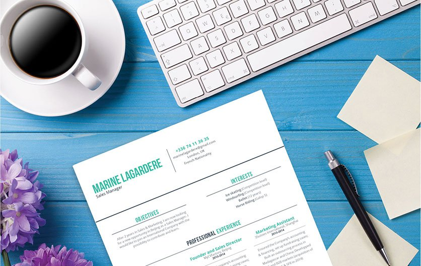 Everybit of information in this template is written to accomodate any job type. A good resume to help you land that dream job