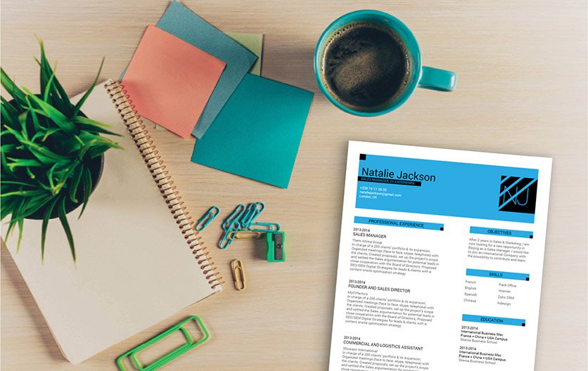 A resume template with a clear goal in mind -- to get you hired!
