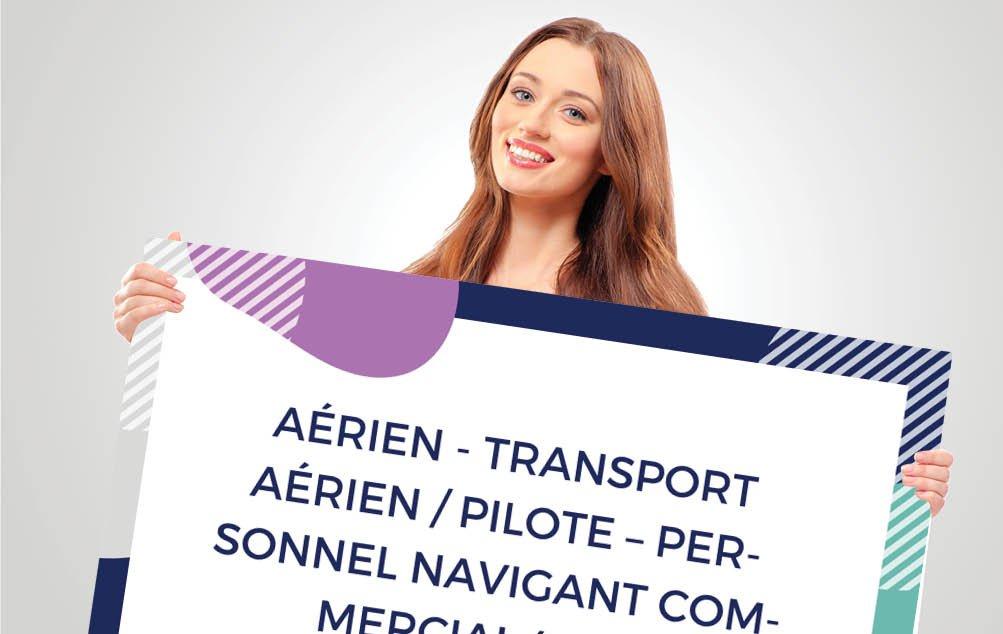 CV pilote et navigant commercial