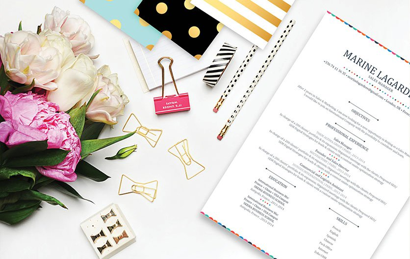 The perfect job resume template to jump start your career!