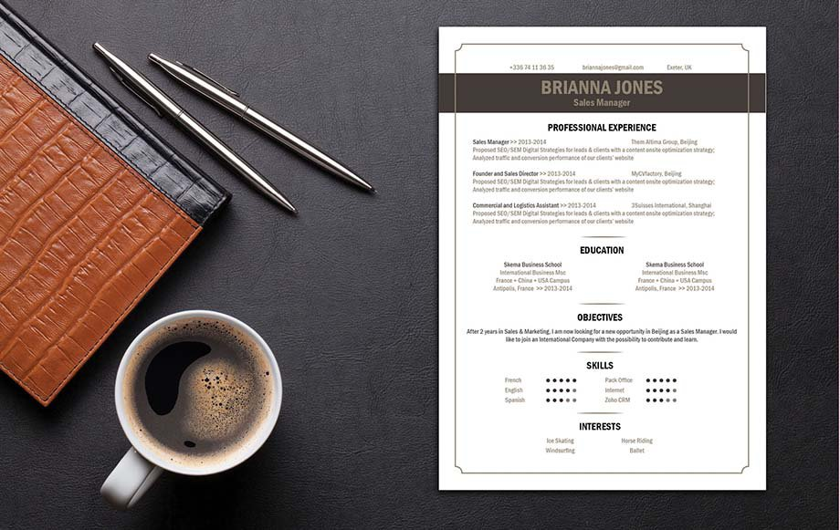 The best resume format for your job hunting! Clear and functional for all job types