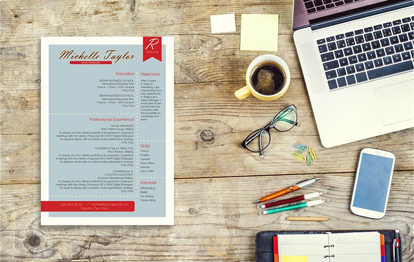 Looking to create an ideal CV? Then this functional resume template is a sure choice!