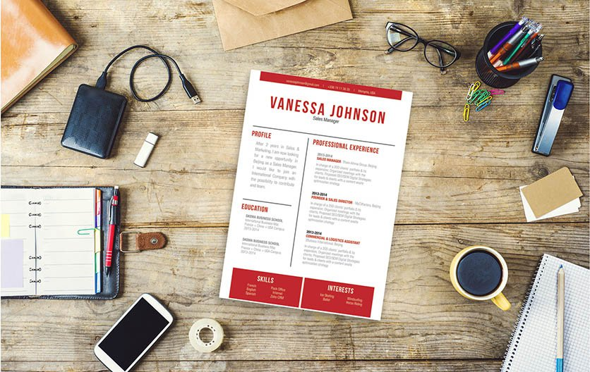 Sometimes all you need is a simple resume format to create the perfect CV!