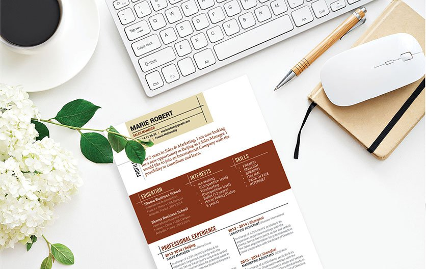 Need help writing a cv? No need to look further, this resume template is all you need!