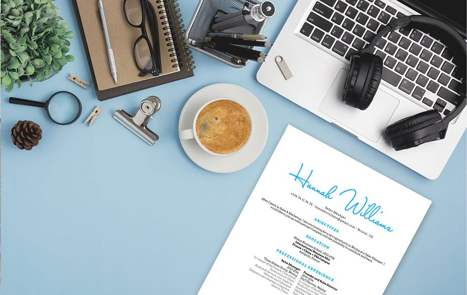 A vibrant and modern design makes this professional resume perfect