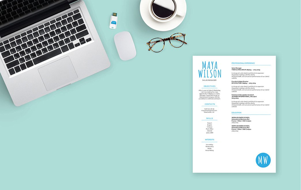 One of the best resume template we have to help you land that dream job!