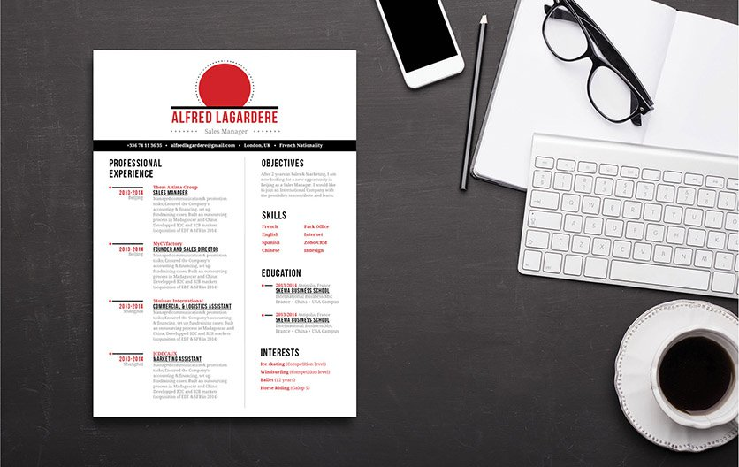 Well-laid out and functional are two things that perfectly describe this great resume!