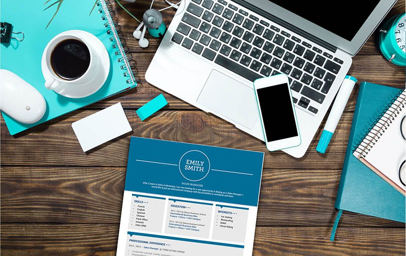 The best resume sample that presents intellegence and creativity