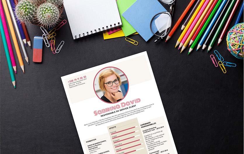 Un exemple de CV dédié aux jeunes candidats souhaitant dénicher leurs premiers emplois.