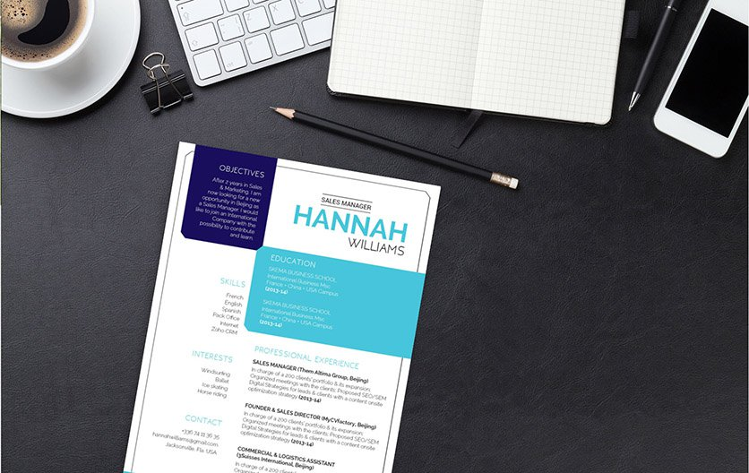 This template has all the building blocks of a great resume!