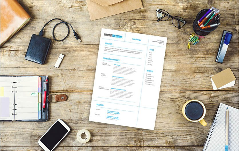 This business resume template has is equiped with well-formatted design for all jobs!