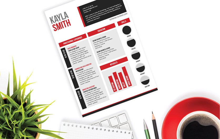 The perfect sales resume template to land you that dream job