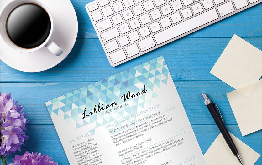 This modern resume template has a functional presentation of your best qualities!