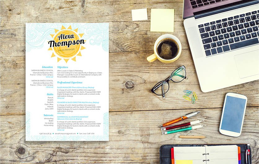 Everybit of information in this template is written to accomodate any job type. A great resume to help you land that dream job