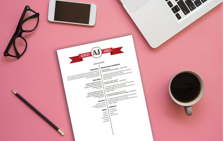 A professional resume template with equal amounts of style and functionality for all job types