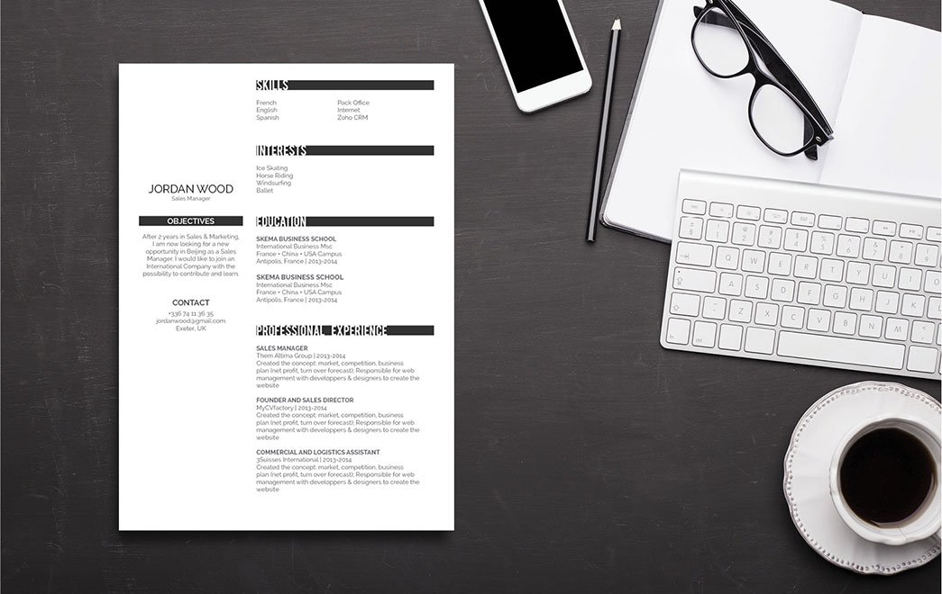 A professional resume sample with all the great elements!