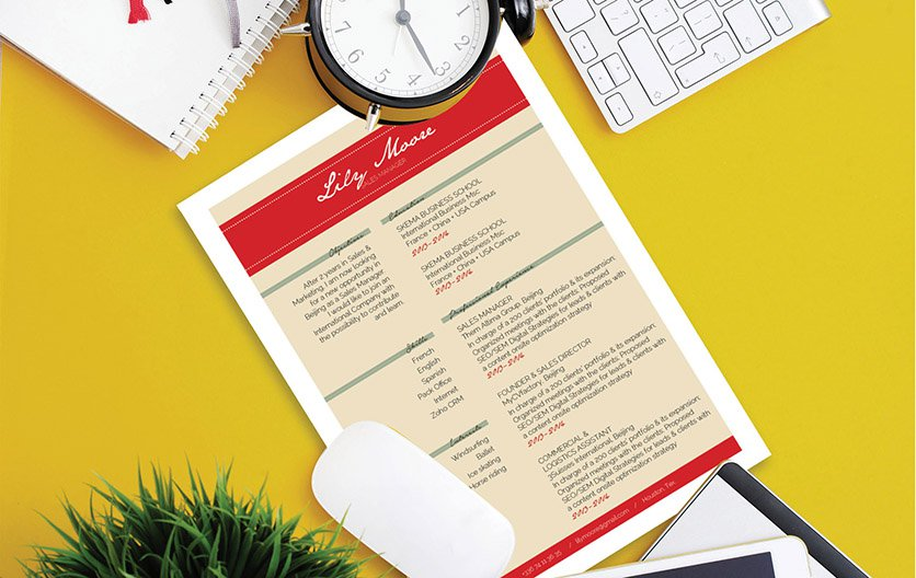 The format used in this functional resume template is sure to impress any recruiter