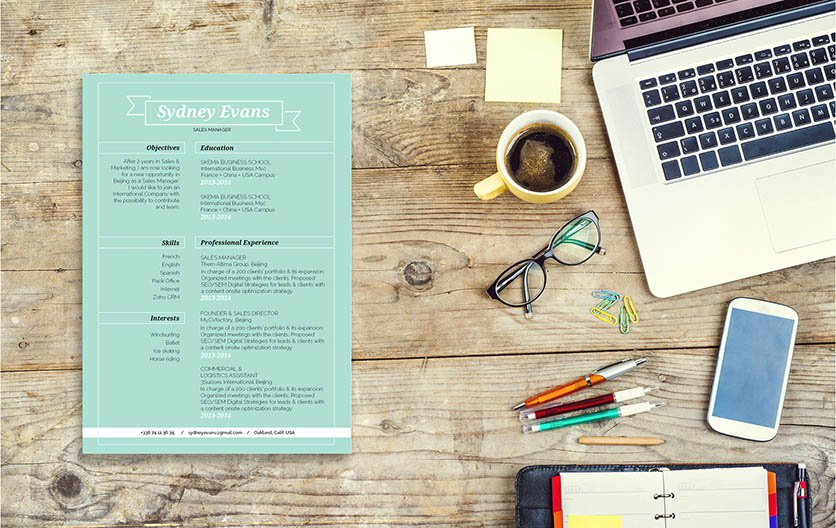 Simple, clean, straightword -- the best functional resume to have!