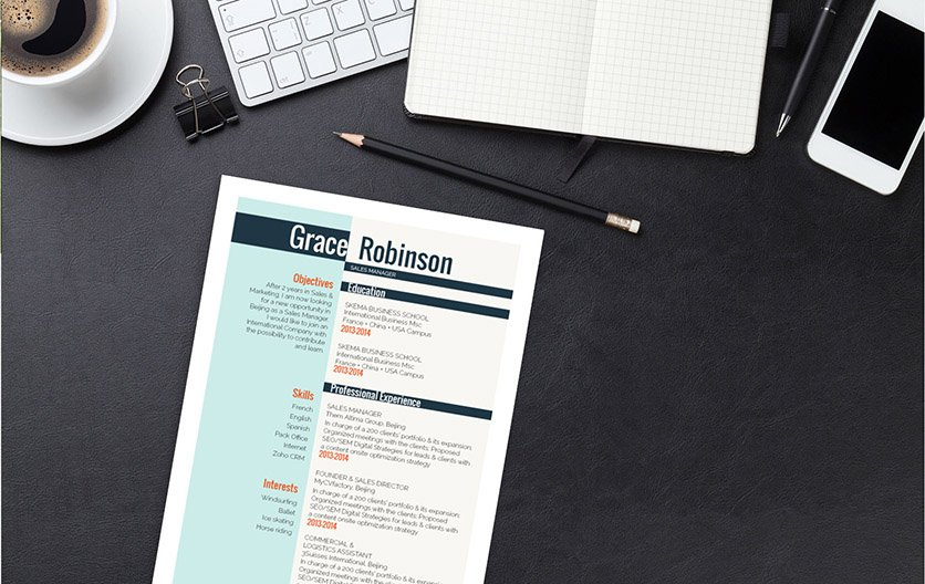 This template has an efficient design that is sure to help you build a great resume
