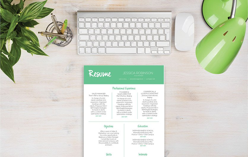 The best resume format that has an efficient design made for the modern age!