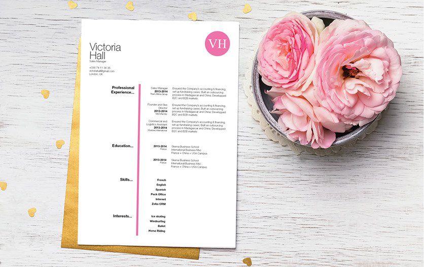 This template has all the good parts in it, building blocks to create a great resume