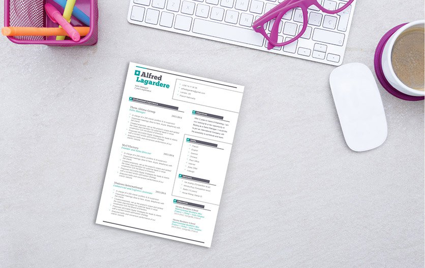 Jump start your journalism carrer with this simple resume template