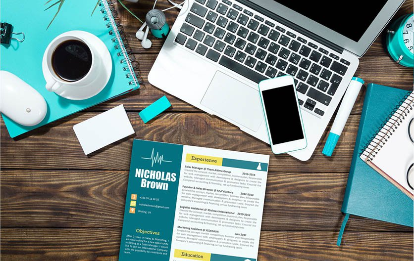 Clean and creative, all you need is this standard resume format