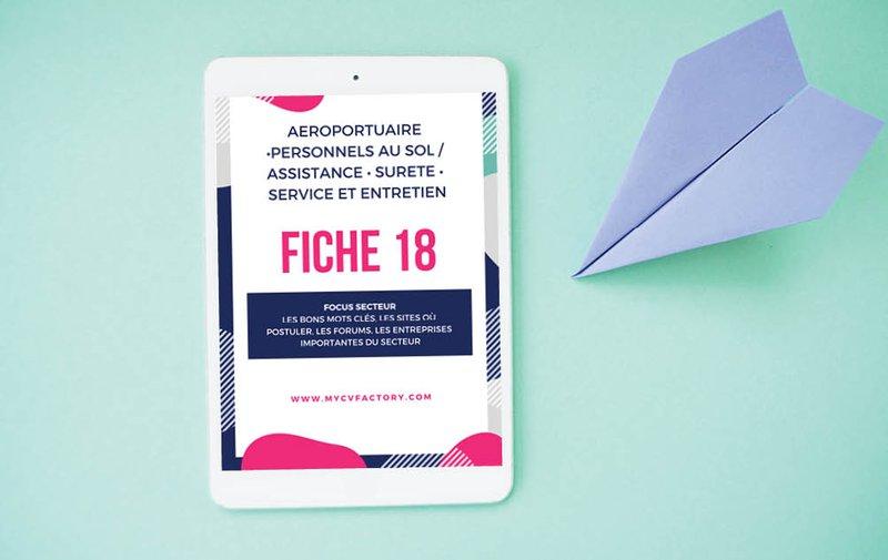 Fiche métier aéroportuaire Personnels Au Sol Assistance Sûreté Service Et Entretien